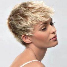 Very short hair styles women Short Hair Cuts For Women, Short Hairstyles For Women, Cool Hairstyles, Pixie Hairstyles, Blonde Hairstyles, Layered Hairstyles, Hairstyles 2018, Cropped Hairstyles, Hairstyle Short