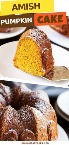 Looking for a perfect snack cake or after-dinner dessert all year, discover this Amish Pumpkin Cake recipe. This moist and tender dessert have some sweetness and punch of warm flavorful spices a pumpkin cake can offer. Treat and pamper yourself to this pumpkin goodness!