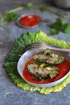 Gołąbki wegetariańskie z ryżem - Zen w kuchni