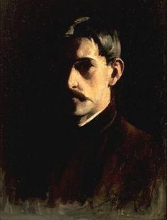 Willard Metcalf (USA, 1858-1925) – Self-Portrait (1890) Florence Griswold Museum, Old Lyme, USA