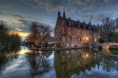 Ter Worm or Terworm Castle (Dutch:Kasteel Terworm) is a castle located in the municipality of Heerlen, Limburg Province, Netherlands.  #castle #netherlands