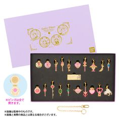 Sailor Moon Crystal Charms and Pins Sets!