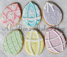 I don't have the steady hand nor the patience to decorate cookies like this, but they are GORGEOUS.