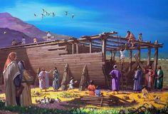 Noah Flood, Noahs Arc, Genesis 6, Jesus Return, Bible Pictures, Bible Lessons, Sunday School, Bible Verses, Dolores Park