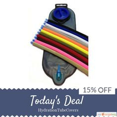 Today Only! 15% OFF this item.  Follow us on Pinterest to be the first to see our exciting Daily Deals. Today's Product: Color In Motion, The Color Run, Hydration Pack Drink Tube Cover. All Colors. Running Accessory fits Camelback, Platypus, MSR Bladders Buy now: https://www.etsy.com/listing/191562827?utm_source=Pinterest&utm_medium=Orangetwig_Marketing&utm_campaig..