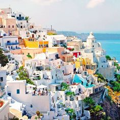 oh my greece - Santorini!! Definitely on the Bucket List!!