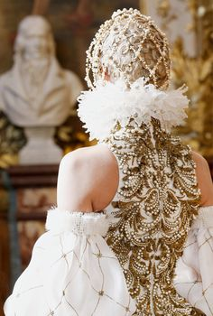 Stop, Drop &; Vogue by Taylor Aube - Detail at Alexander McQueen Fall/Winter 2013