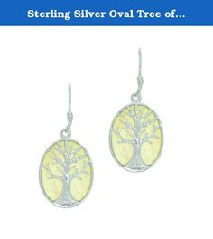 Sterling Silver Oval Tree of Life Drop Earrings. Sterling Silver Oval Tree of Life Drop Earrings Beautifully designed and well crafted. This jewelry will make a great accessory and compliment any style and occasion. All items come with gift box Properly marked and stamped PICTURE IS ENLARGED FOR DETAILING. Your Satisfaction is important to us! If you are unsatisfied with your purchase, for any reason, you may return the item for a FULL REFUND within 30 days of purchase.