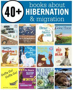 Books about hibernation, migration, and adaptation | via The Measured Mom
