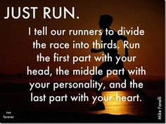 Divide your run into thirds... fitness-inspiration