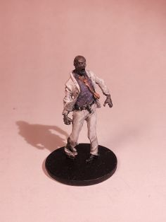 Season 1 Walker Zombie - Suit - Painted with white suit