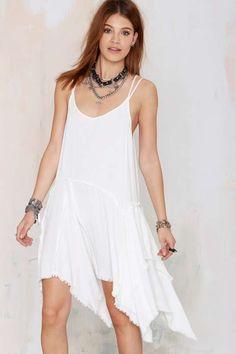 Don't Get Mad Frayed Dress - Dresses