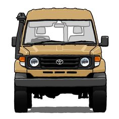 Toyota Land Cruiser - Draws Your Car - picture for you Toyota Land Cruiser, Land Cruiser Pick Up, Land Cruiser 70 Series, Cruiser Car, Carros Toyota, Cool Car Stickers, Bentley Mulsanne, Toyota 4x4, Best Classic Cars