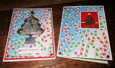 BaRb'n'ShEllcreations - Christmas cards - made by Shell