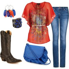 I like except the boots I dont think i could pull it off well lol