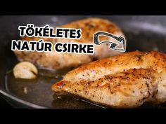 Zé konyhai tippjei - így süsd a tökéletes natúr csirkemellet - YouTube Meat Recipes, Baked Potato, Chicken, Cooking, Ethnic Recipes, Food, Youtube, Anna, Drinks