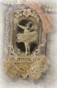 Two WALL Hangings Dancing Ballerina And Cat Art door KHATSART