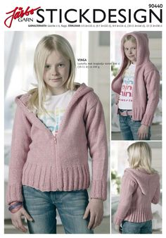 Neat knitted hoodie.