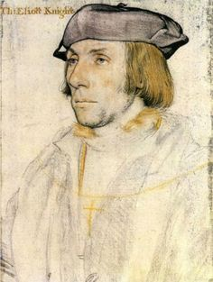 Sir Thomas Eliot - Hans Holbein the Younger