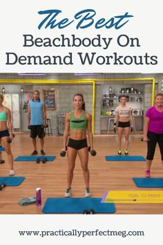 Best BeachBody On Demand Workouts To Do At Home. #workoutfromhome #21dayfix #beachbody #fitness #workout #health #motivation #training #getfit #cardio #weights #fatloss #weightloss #plussize #fullbodyworkout #athomeworkout #forbeginners #strengthtraining #fatburning #hiit #formen #forwomen #beachbodyondemand #athomefitness Dance Routines, Exercise Routines, Bulk Up, Mommy Workout, Heath And Fitness, Weight Training Workouts, Hiit, Cardio, Health Motivation