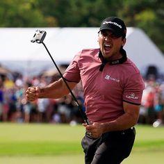 Clutch. Great win at the RBC Canadian Open Jason Day! #golf I Rock Bottom Golf #rockbottomgolf