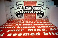 """Maxwell L. Anderson, director of the Whitney Museum, commented, """"it is especially timely that we are hosting the Barbara Kruger exhibition at the Whitney, ..."""