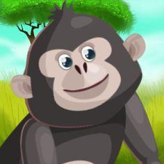 #NEW #iOS #APP Monkey Runner Adventure - Umer Ramzan