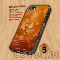 beauty and the beast Quotes - Print On Hard Case iPhone 5 Case | GetToMade - Accessories on ArtFire