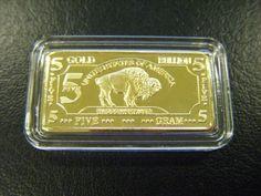 5 Gram Gold 100 Mills Bar