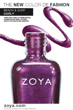 Zoya Nail Polish in Carly from the Surf Collection http://www.zoya.com/content/38/item/Zoya/Zoya-Nail-Polish-Carly-ZP621.html?O=PN120521MN00142