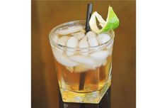 Dry & Stormy features flavours of rum, lime and spicy ginger beer.#micahdew #liquor #cocktail #cocktailrecipe #rum #gingerbeer