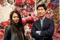 Hyon Gyon Artist Paintings Shin Gallery Volta Art Fair Pioneer Works Brooklyn New York