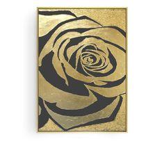 Golden Rose 48.4'' Mural Painting