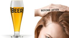 Balding Remedies Amazing Home Treatments with Beer to Control Baldness at Home - Beer fulfils all your hair's mineral needs thus helping hair to grow faster and thicker. These are the ways you can use beer to control baldness at home Hair Growing Tips, Grow Hair, How To Grow Your Hair Faster, How To Make Hair, Hair Growth Solution, Make Hair Thicker, Lighten Hair, Yoga Hair, Hair Rinse
