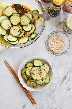 Asian Cucumber Salad /
