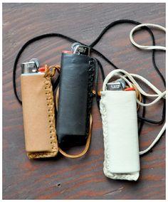 who has a lighter on a badass leather hanger-thinger? you do. congratulations, you're everyone's hero. now let's toke.