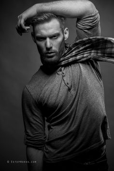 Brandon Ginger Beard, Archangel, Beards, Character Inspiration, Fashion Photography, Faces, Black And White, Studio, Red Heads