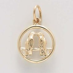 Wedding Charm $24.50 http://www.charmnjewelry.com/gold-charms.htm #LoveCharm