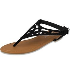 Rampage Womens Pattie Sandal * You can find more details by visiting the image link.