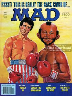 Mad Magazine Covers Gallery