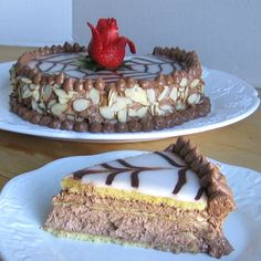 Hungarian Esterhazy Torta