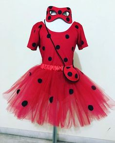 334 Likes, 30 Comments - Sra. Costume Halloween, Miraculous Ladybug Costume, Ladybug Tutu, Lady Bob, Ladybug And Cat Noir, Bday Girl, Halloween Disfraces, 4th Birthday Parties, 2nd Birthday