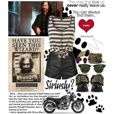 25/70 Sirius Black, created by girloverboard on Polyvore