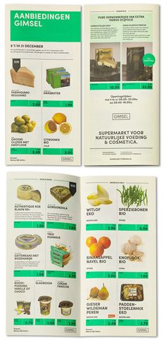 For 25 years, the Rotterdam based supermarket Gimsel, is selling organic foods and cosmetics to a growing group of customers (or should we say, fans...). Studio Beige created a new logo, pay-off, visual- & brand identity, signage and website.