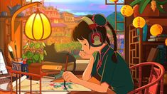 Desktop Wallpaper Girl, Original, Do Painting, Art, Hd Image, Picture, Background, F25a70