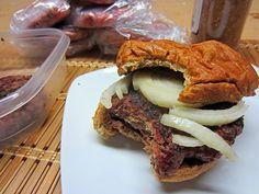 Smoked Brisket Burger by Smoked n' Grilled