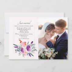 Watercolor Photo Announcement   velum wedding invitations, event invitation design, invitations fifteen #InvitationsPH #invitationprinting #invitationshop, 4th of july party Bachlorette Invitations, Wedding Invitations, Post Wedding, Wedding Photos, Event Invitation Design, Wedding Announcements, Watercolor Cards, Just Married, Lamb