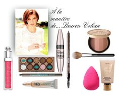 """À la manière de... Lauren Cohan"" by littlemoon-19 ❤ liked on Polyvore featuring beauty, MAC Cosmetics, beautyblender, NYX, Bourjois, Maybelline, tarte, Christian Dior, Urban Decay and Benefit"