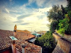 Rooftops by Andrea Di Mauro on 500px#blue #church #clouds #editorial #gopro #green #hero #high #infinite #italia #italy #landscape #landscapes #landschaft #photographer #photography #photos #rimini #romagna #roof #roofs #rooftops #sky #skyline #sun #tree #trees #view #wide #wide angle