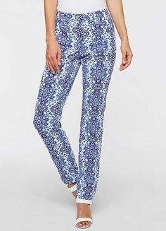 Casablanca Print Trousers